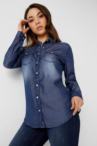 04f0aef0188 Buy Boohoo Soft Denim Shirt from Next Ireland