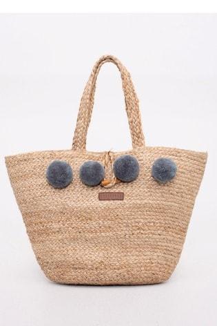 fresh styles popular stores cute cheap Brakeburn Jute Straw Beach Bag