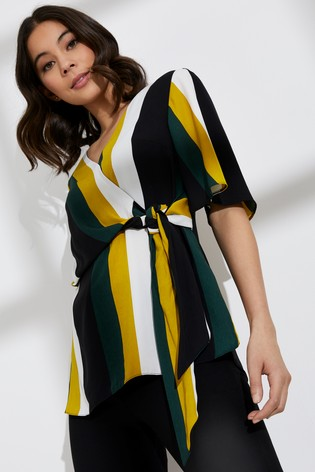 f00865111a Buy Dorothy Perkins Stripe 3/4 Sleeve Top from Next Ireland