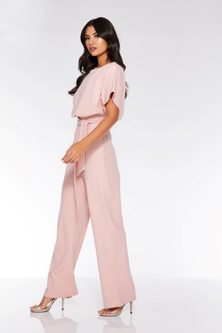 c0565919cc Buy Quiz Batwing Belted Jumpsuit from the Next UK online shop