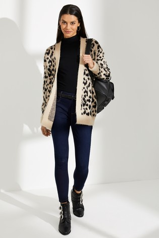 464978b909cc Buy Dorothy Perkins Brushed Leopard Cardigan from the Next UK online ...
