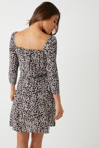 da9d446d Buy Vila Square Neck Dress from the Next UK online shop