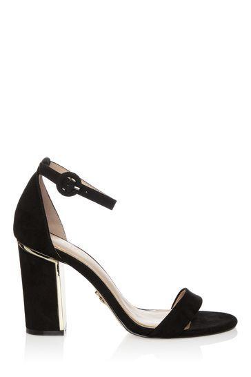 Buy Lipsy Wide Fit Block Heel Sandals