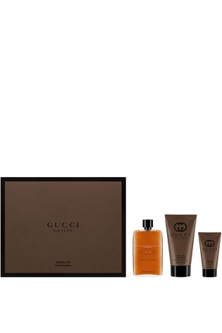 348acb32bd Buy Gucci Guilty Absolute Eau de Parfum For Him 90ml Gift Set from ...