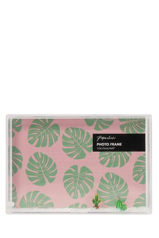 Paperchase Cactus Float Frame 4x4
