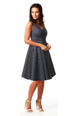 a25cba74af7f Buy Want That Trend Polka Dot Sweetheart Skater Dress from Next Slovakia