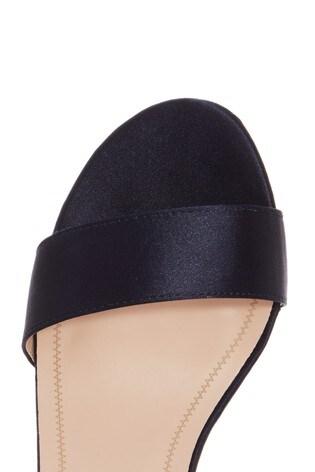 56843f996d Buy Quiz Satin 2 Part Block Heel Sandals from the Next UK online shop