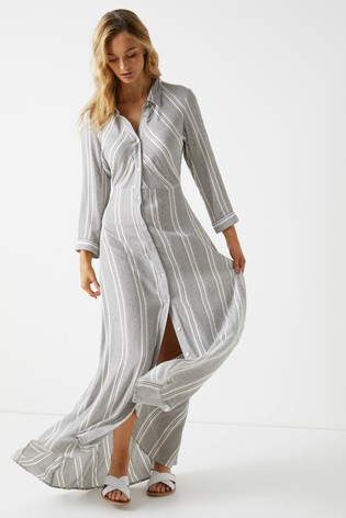 2962e5e5f35 Buy Y.A.S Stripe Maxi Shirt Dress from Next Netherlands