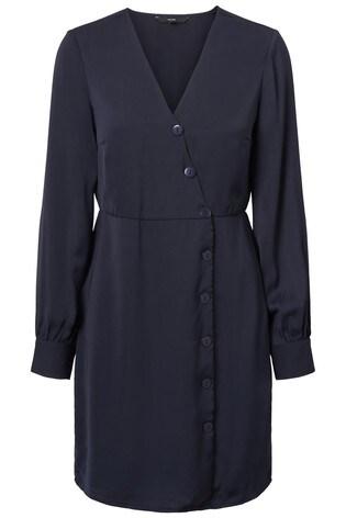 Buy Vero Moda Petite Long Sleeve Wrap Dress from Next Ireland 0e4ef0b3e9