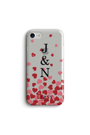 the best attitude f35ed 3a141 Personalised Lipsy Floating Hearts Phone Case By Koko Blossom