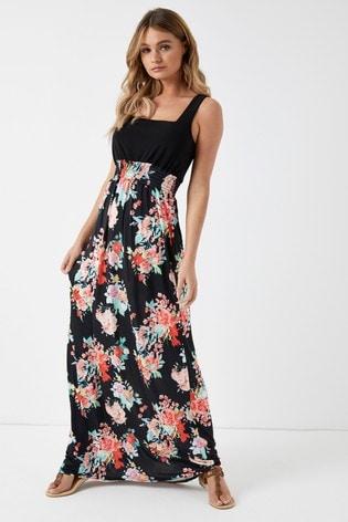 9ac01d8f4d2 Boohoo 2 in 1 Maxi Dress