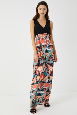 058a81206383a Buy Boohoo Aztec Wrap 2 in 1 Maxi Dress from the Next UK online shop