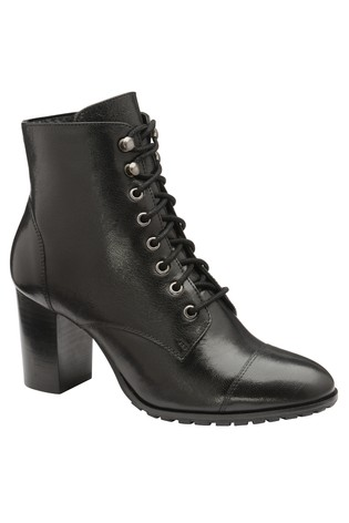 Buy Ravel Lace Up Leather Ankle Boot