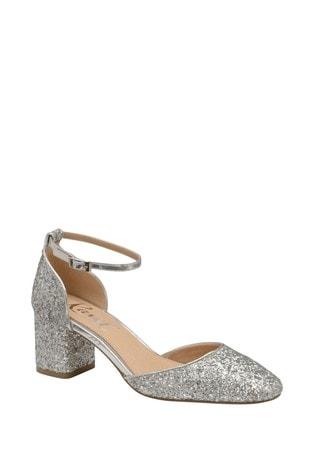 Buy Ravel Glitter Block Heel Sandal