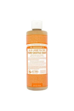Dr  Bronner's Organic Tea Tree Pure-Castile Liquid Soap 473 ML