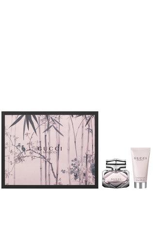 Buy Gucci Bamboo Eau De Parfum 30ml Body Lotion 50ml Gift Set From