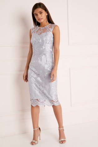906eac64 Buy Lipsy VIP Sequin Lace Midi Dress from Next Gibraltar