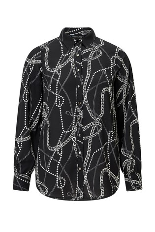 52680f4f7eccce Buy Dorothy Perkins Chain Print Shirt from the Next UK online shop
