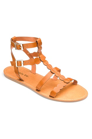 07df1ddbfcc Buy Simply Be Gladiator Extra Wide Fit Sandals from Next Ireland