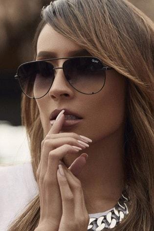 59a725da691 Buy Quay Australia High Key X Desi Aviator Sunglasses from Next Cyprus