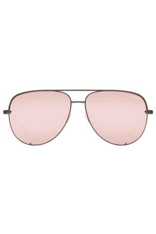 47df2235876 Buy Quay Australia High Key X Desi Mini Aviator Sunglasses from Next ...