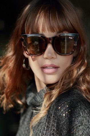 c3a79312a9 Buy Quay Australia Rumours Black Cat Eye Sunglasses from Next Ireland