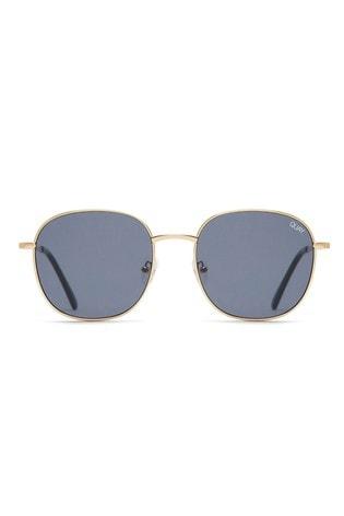 488fcccae4c Buy Quay Australia Jezabell Gold Round Sunglasses from Next USA
