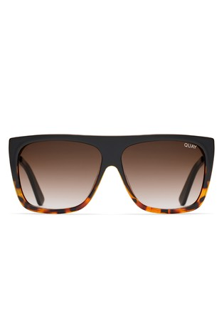 67becc4bcd0 Buy Quay Australia Low Tortoiseshell Square Sunglasses from the Next ...