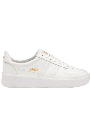 Grandslam Leather Lace-Up Trainers