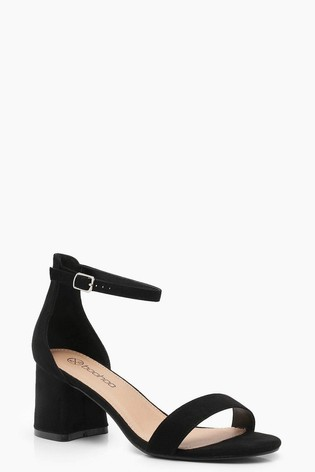 modern and elegant in fashion original variety styles of 2019 Boohoo Wide Fit Suedette Block Heels