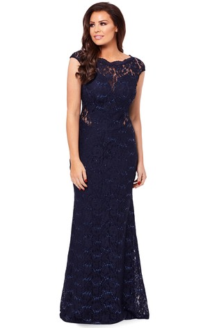 d9ed5be8ee Buy Sistaglam loves Jessica Petite Sequin Lace Maxi Dress from Next ...