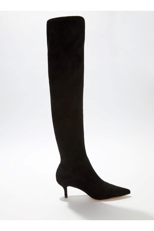 aa5bed6f056 Buy Miss Selfridge Pointed Stretch Over Knee Boots from Next Ireland