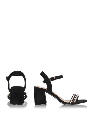 6daa19b4222 Buy Boohoo Barely There Block Heel Sandal from the Next UK online shop