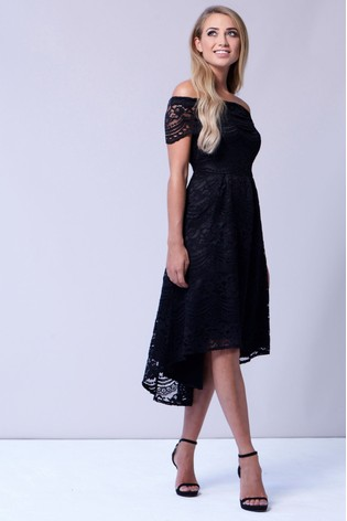 d127337374c285 Sistaglam Lace Bardot Dress · Sistaglam Lace Bardot Dress. Next