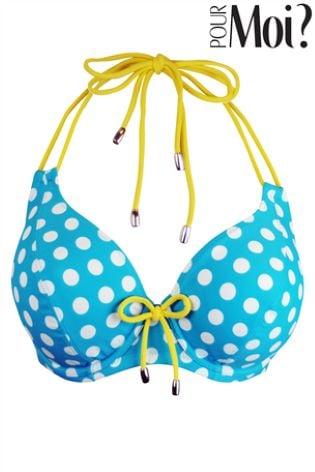 e8595ceb31 Buy Pour Moi Starboard Halter Triangle Underwired Bikini Top from ...