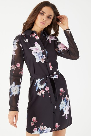 Buy Lipsy Shirt Dress from Next Ireland 6541021ee