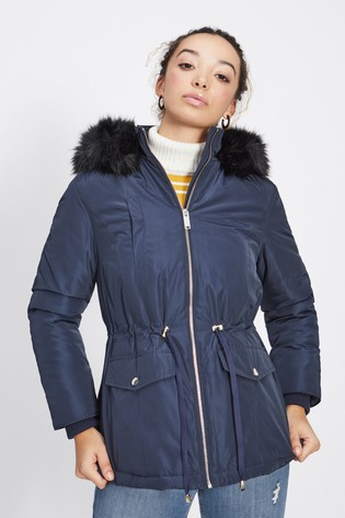 50ab9a07cd42 Buy Miss Selfridge Petite Parka Jacket from the Next UK online shop