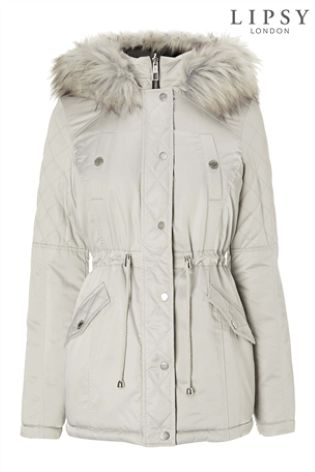 01a5516128ef Buy Lipsy Reversible Padded Parka Coat from Next Ireland