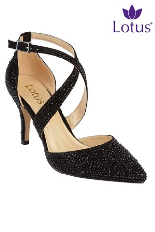 c758ef9d92cf Buy Lotus Embellished Court Shoes from Next Ireland