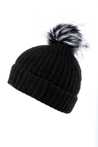 Buy Alice Hannah Ribbed Knit Hat from Next USA 193a72b8710