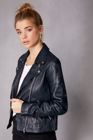 e5565f29d Buy Selected Femme Leather Jacket from Next Ireland