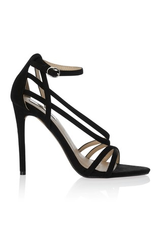 Buy Lost Ink Wide Fit Strappy Sandals