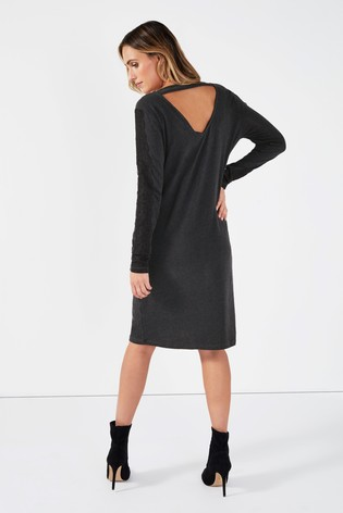 7a61f6ab Buy Mamalicious Maternity Long Sleeve Jersey Dress from the Next UK ...