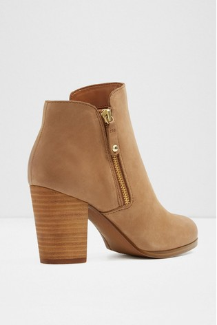 b08d349c1 Buy Aldo Wide Fit Leather Ankle Boot from Next Bahrain