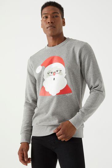 elegant im Stil der Verkauf von Schuhen kauf verkauf Buy Jack & Jones Santa Christmas Sweatshirt from Next Ireland