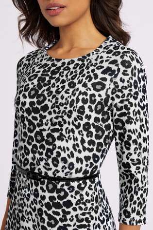 fb1bc9a343a8 Buy Lipsy Animal Printed Skater Dress from the Next UK online shop
