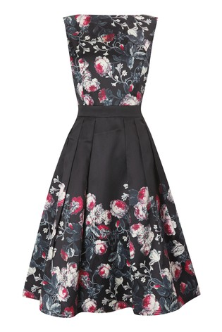 Buy Mela London Floral Pleated Prom Dress From The Next Uk Online Shop
