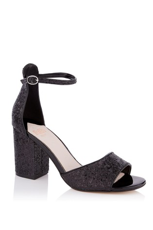 modern style hot-selling newest preview of Faith Wide Fit Glitter Block Heel Sandals