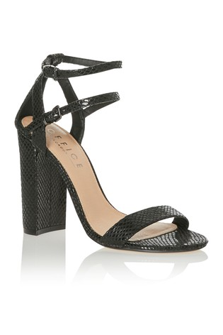 96e5b8f0707 Buy Office Strappy Block Heel Sandals from Next Kuwait