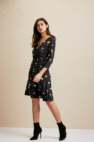 26fef249b8 Buy Joe Browns Moonlit Petal Print Dress from the Next UK online shop